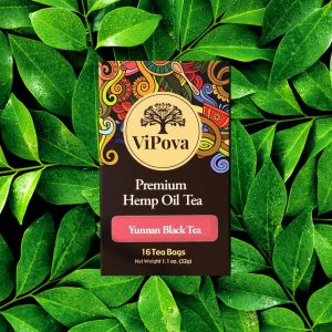 Hemp oil tea CBD product